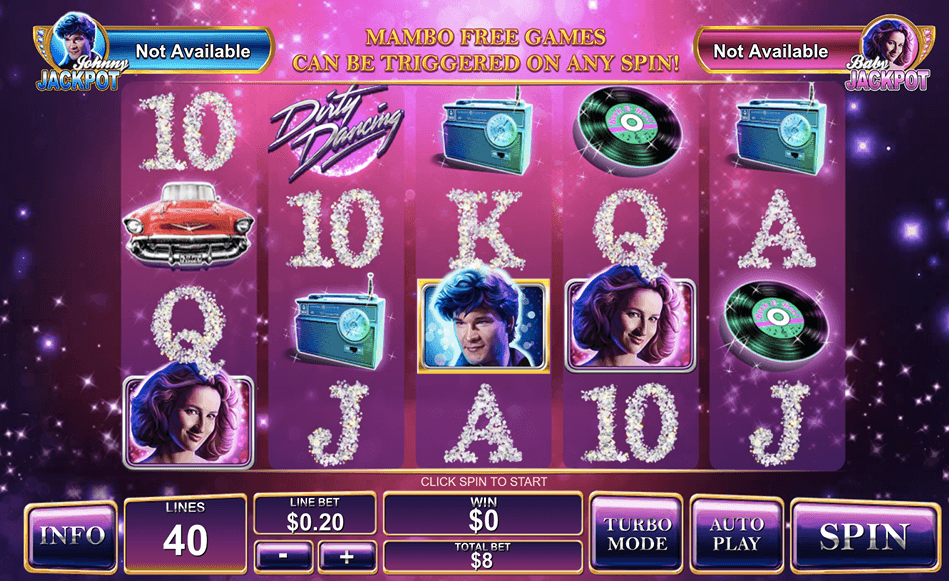 dirty dancing slot, online slot, slot review, slot games