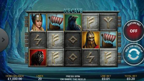 ice cave slot, slot review, online slot, slot machine