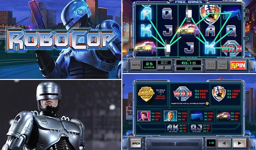 Robocop Slot Review, slot online, slot machine
